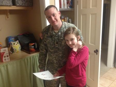 Rachel and dad